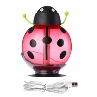 Mini Portable Preserved Flower Air Humidifier 7Colors Light Change Air Purifier Home Office Aroma Diffuser Fragrance