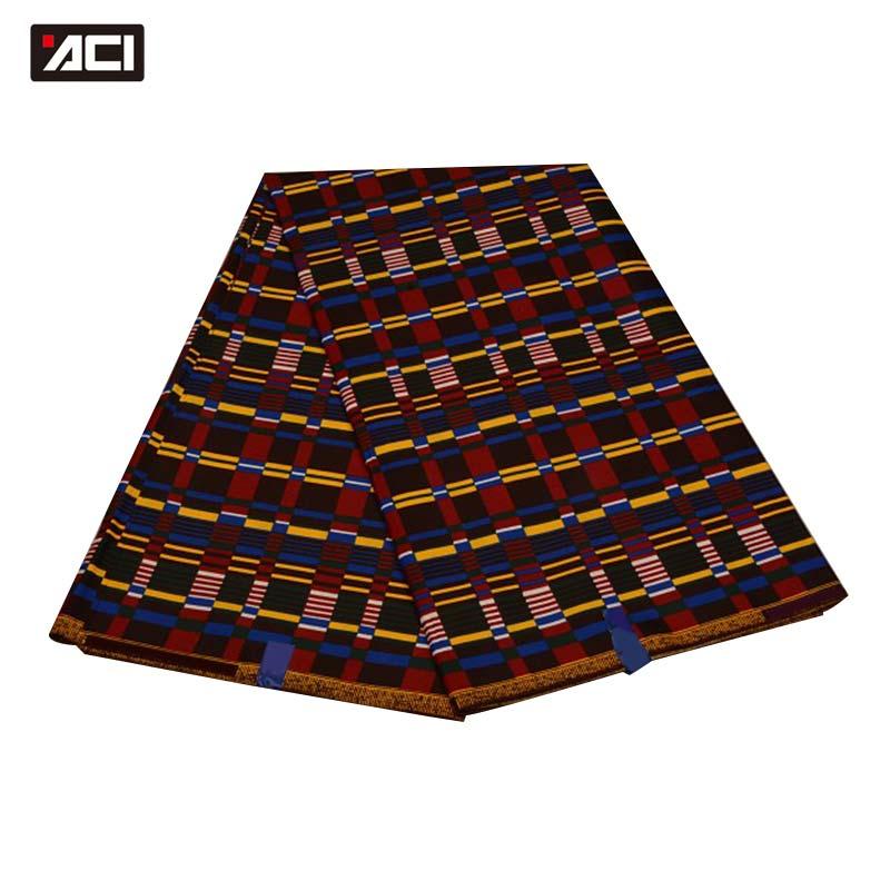 Günstige tissu wachs africain nicht baumwolle stoff afrikanischen wachs druckt gewebe 6 yards ankara echt wachs China polyester stoff für kleidung