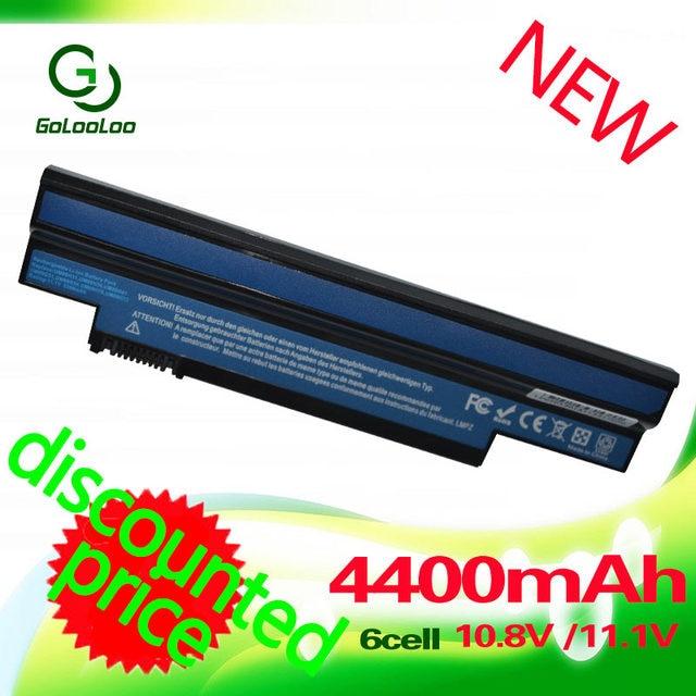 Golooloo Battery for Acer Aspire one 253H 532h 532G AO532h For eMachines 350 eM350 NAV51 NAV50 UM09H31 UM09H41 UM09G31 UM09H75