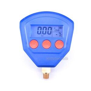 Image 1 - R22 R410 R407C R404A R134A Klimaanlage Kälte Vakuum Medizinische Geräte Batteriebetriebene Digitale Manometer