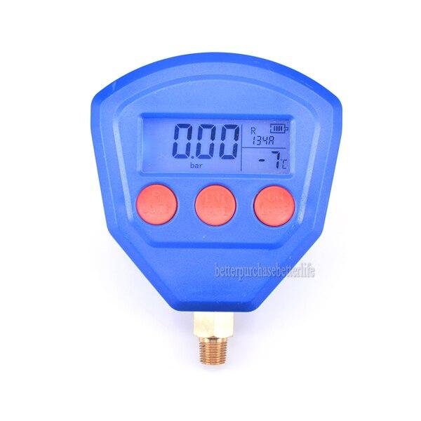 R22 R410 R407C R404A R134A climatiseur réfrigération sous vide équipement médical manomètre numérique alimenté par batterie