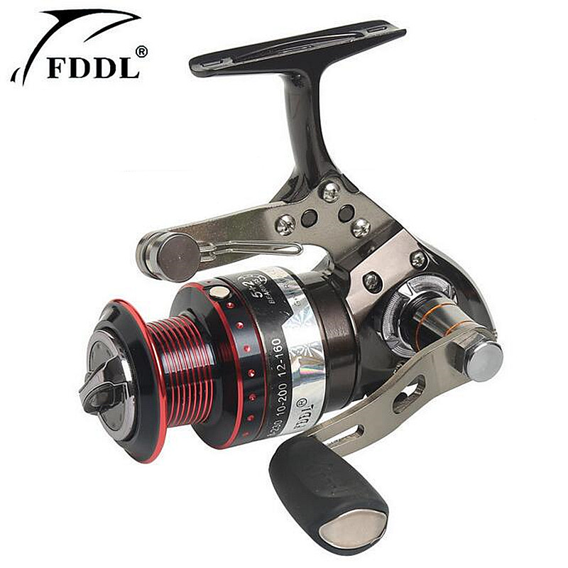 FDDL Brand Can pull the car font b fishing b font wheel 5 2 axis Full
