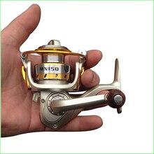 MN150 Mini in Palm 10 Bearings Spinning Reel 5.5:1 Ratio Nylon 66 Material Mini Ice Fishing, Rock & Lure Fishing Tackle