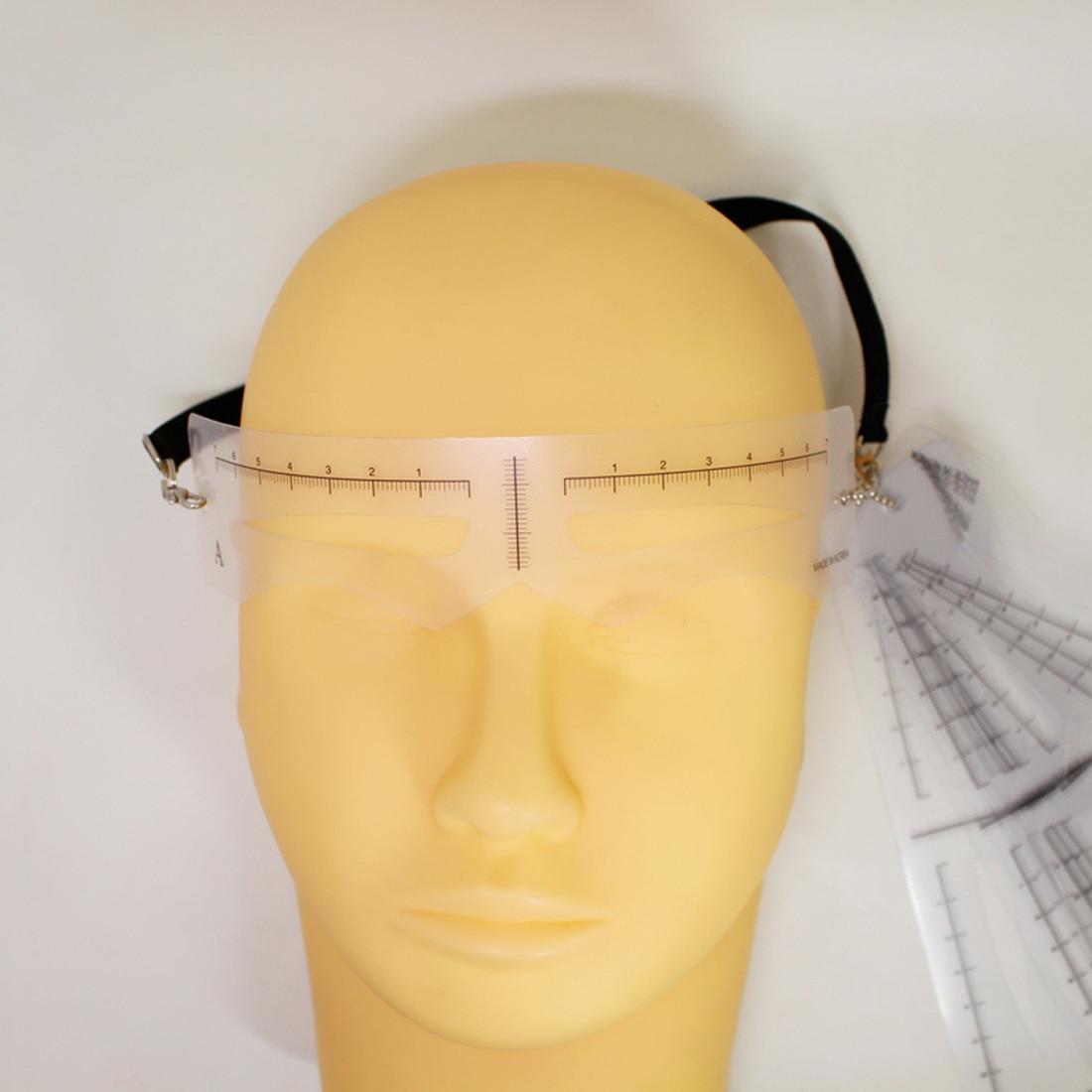 12PCS Useful Easy to Use Eyebrow Shaper Makeup Template ...