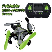 GizmoVine 4CH 6Axis RC Quadcopter 2.4GHz Drones Simulators Gyro 3D Headless Rolling Mini Foldable Arm Pocket Drone Toy For Child