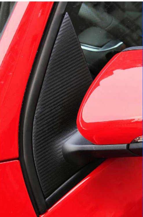 Aliauto 8 x pegatinas de vinilo de fibra de carbono para coche ABC versión en forma de pegatinas de coche accesorios para Volkswagen Golf 6 GTI R20