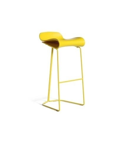Dining room chair retail Cafe house living room stool PP seat yellow black and white color free shipping ktv bar chair pe rattan seat cafe house stool living room children chair blue green color study stool free shipping