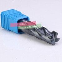 Wave carbide frees 4F-16.0MM  16*16*40*100 MM legering Ruw frees  CNC freesmachine  frezen  Nc tool