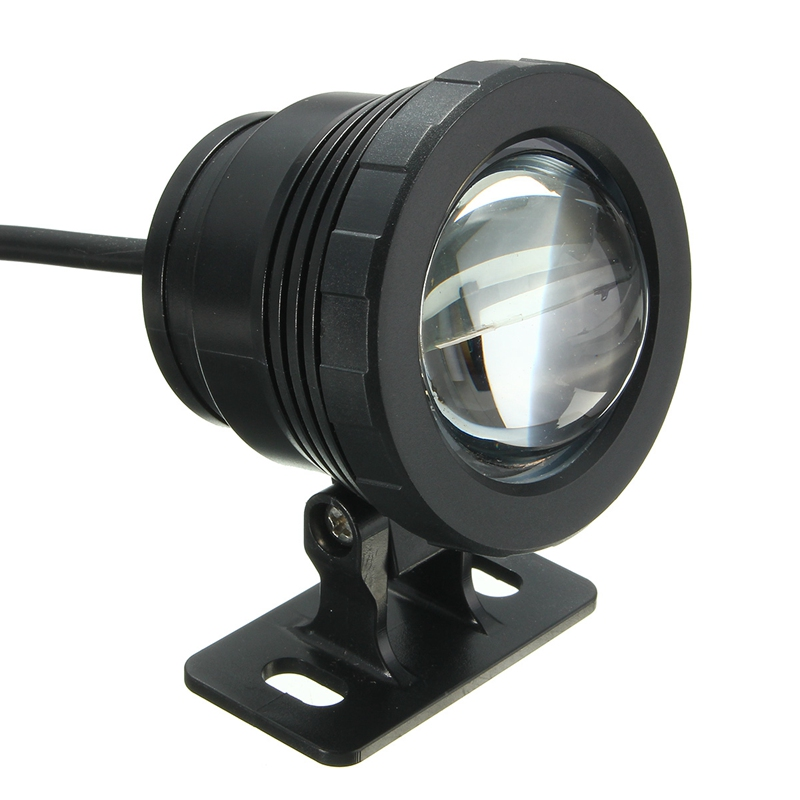 AC85-265V/DC12V 5W Waterproof RGB LED Underwater Light Fountain Pool Pond Spotlight Lamp With Remote Control