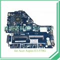 Z5we1 la-9535p nbmes11001 nb. mes11.001 para acer aspire e1-570 e1-570g motherboard cpu i3-3217u gráficos nvidia gt740m