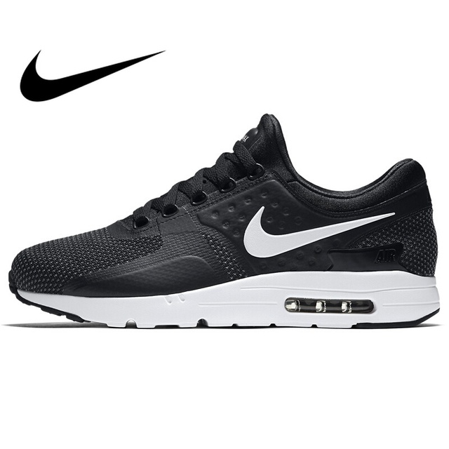 6437058f5ec003 Original NIKE AIR MAX ZERO ESSENTIAL Men s Running Shoes New Outdoor Sports  Comfortable Cushioning Sneakers Wear resistant Shoes