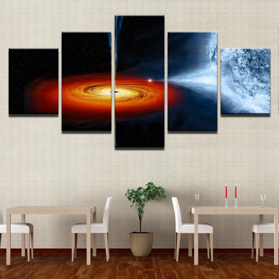 Modular Home Decor Wall Art Pictures Unframed HD Printed Earth ...