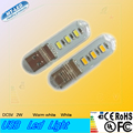 10pcs New Led light 2W USB light Led lamp SMD 5730 chip led reading light 3 years warranty