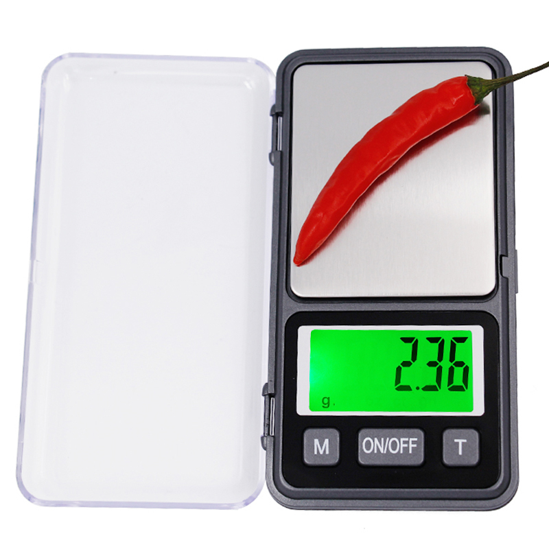500g 0.01 Digital Scales Electronic Gram Scale Precision Pocket Lab Jewelry Weight Balance large screen with backlight 10%Off