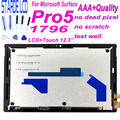 STARDE LCD di Ricambio Per Microsoft Superficie Pro5 Pro 5 1796 Pro 6 pro6 Display LCD Touch Screen Digitizer Assembly 12.3