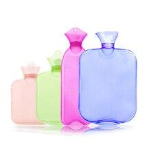 Bottle Heater Hot Water Pack Hot Water Bag  Up Massage Health Care Hot Water Bottle Explosion-proof Transparent Hand Massage