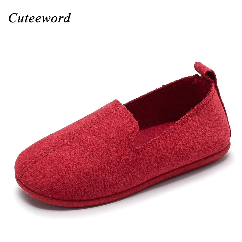 Spring childrens shoes soft rubber anti slip kids casual shoes fur 2018 brand fashion comfortable girls boys school flats shoes