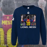 Hoodies Men Lionel Messi Leo M10 Argentina Star Sweatshirt Polo Sweat Suit Hip Hop Streetwear Tracksuit