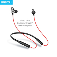 Presell Meizu EP52 Sport Headphones Bluetooth 4 1 Wireless Qualcomm AptX Audio IPX5 Waterproof With MIC
