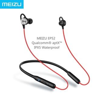 Meizu EP52 sportowy zestaw słuchawkowy Bluetooth 4.1 bezprzewodowa Qualcomm aptX układ Audio IPX5 wodoodporne z mikrofonem do Huawei Xiaomi iPhone