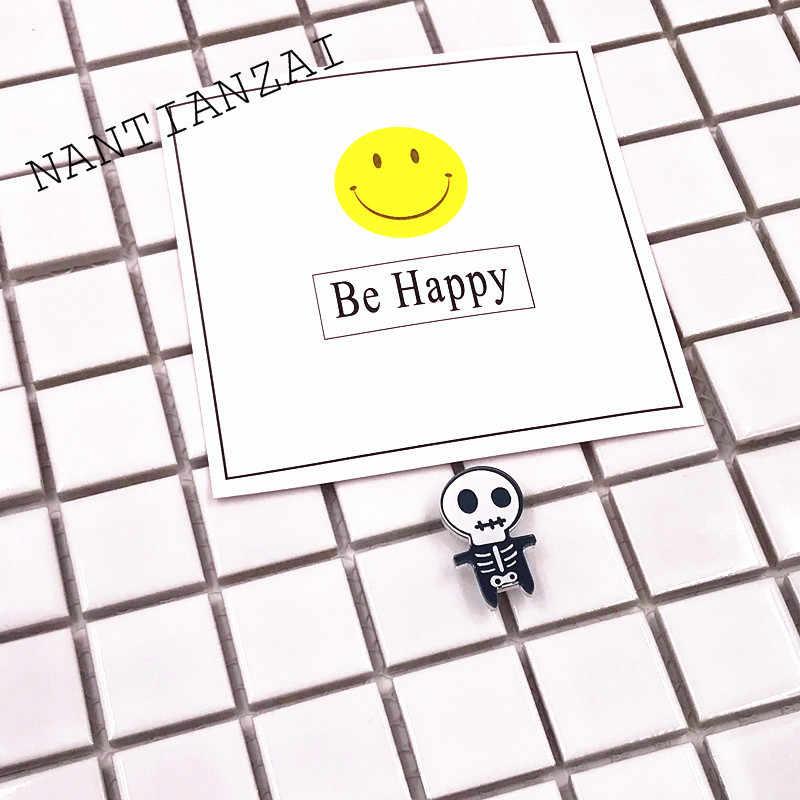 1 PZ Spedizione Gratuita Icone Strega di Halloween Jack Spilla su Zaino Spille Pins Abbigliamento Badge Acrilico Partito regalo decorativo