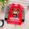2017 new spring autumn Girls Kids Boys Long-sleeved cotton cartoon T-shirt comfortable cute baby Clothes Children Clothing 5W