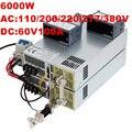 6000W 60V power supply 60V 100A 0-5V analog signal control 0-60V adjustable power supply 60V 6000W AC to DC ON/OFF High-Power