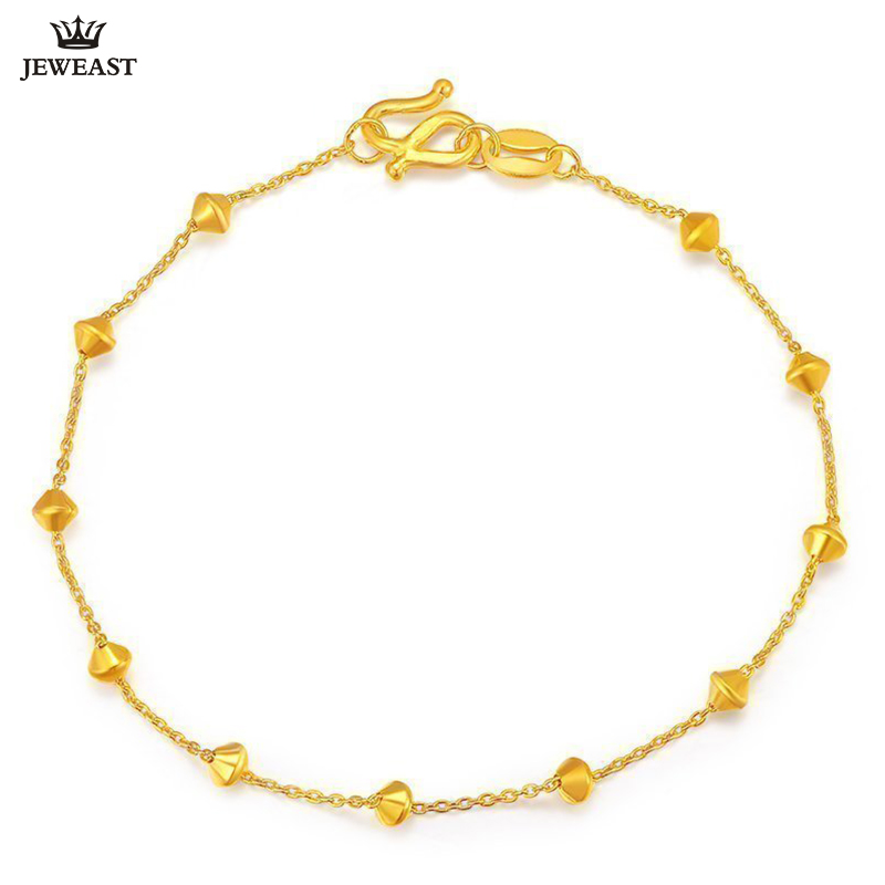 XXX  24K Pure Gold Bracelet Real 999 Solid Gold Bangle Beautiful Diamond Simple Fashion Trendy Classic Fine Jewelry Hot Sell NewXXX  24K Pure Gold Bracelet Real 999 Solid Gold Bangle Beautiful Diamond Simple Fashion Trendy Classic Fine Jewelry Hot Sell New