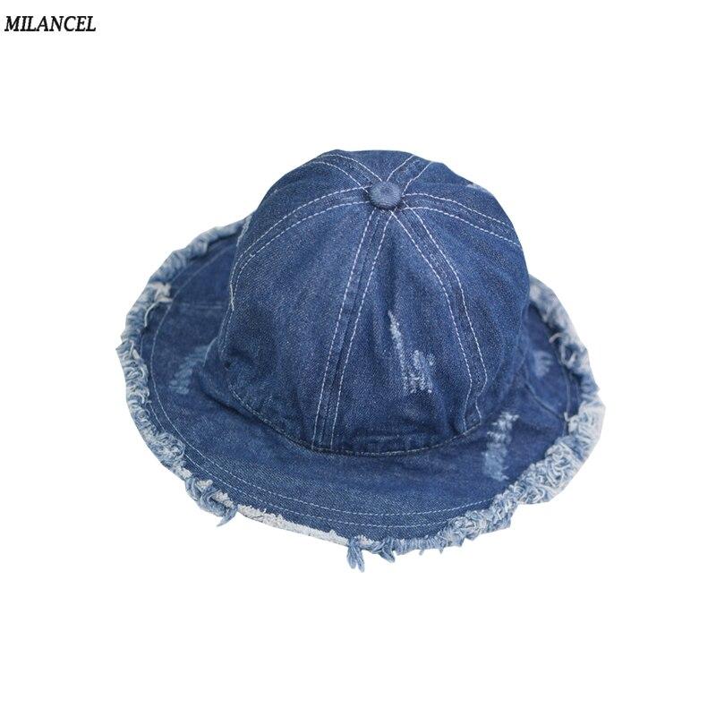 Baby Summer Sun Hat Toddler Boys Girls Beach Cotton Bucket Cap Hat Accessories