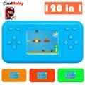CoolBaby RS-18 1.8 дюймов ЖК 8bit РЭШ 120 Classice Игры внутри Мариос Ручной Игры Игрока Консоль Игры Детские Игрушки подарок