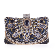 2017 mode weibliche paket Quadrat perle tasche tag clutch abendtasche welle süße gentlewomen braut kleid tasche in die abendtasche in