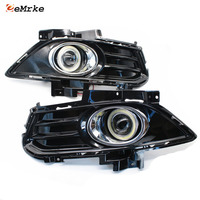 Car Styling For Ford Fusion / Mondeo MK V COB Angel Eyes DRL Fog Lamp Daytime Running Lights H11 55W Halogen Bulbs Kits
