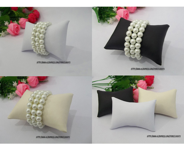 Wholesale Quality Leatherette Bracelet Display Holder Ankle Showing