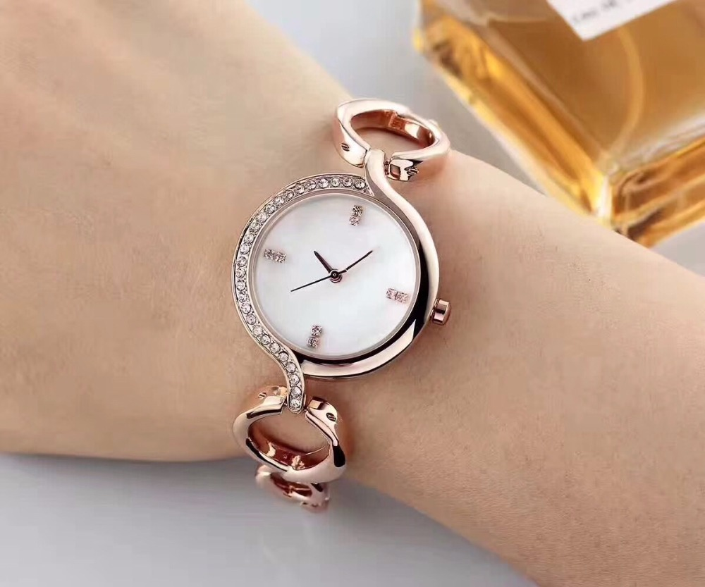 SGW012 Fashion Women Watches 2019 Best Sell Star Sky Dial Clock Luxury Rose Gold Women s