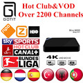 Android TV Box Mini M8S German IPTV 2200+ Channels Netherlands Turkish Spain Portaguese Albanian IPTV Adult Hot Club&VOD