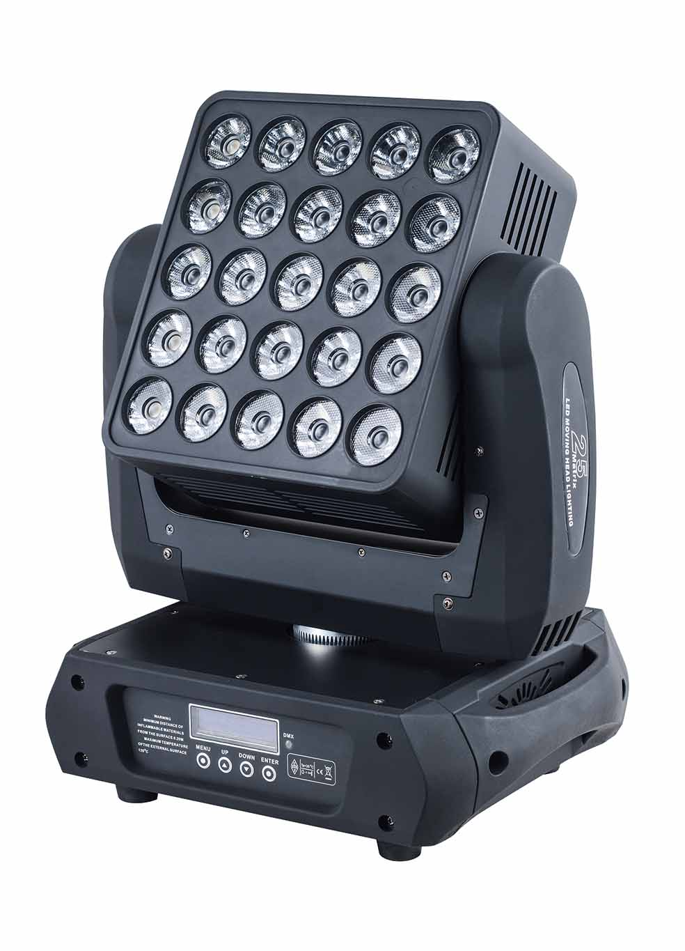 4pcs/lot LED blinder light 25X12W 4 in 1 RGBW led beam moving head matrix light for disco light blinder m45 x treme