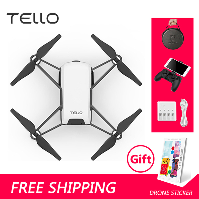 Tello Drone DJI Perform Flying Stunts Shoot Quick Videos With EZ Shots And Learn About