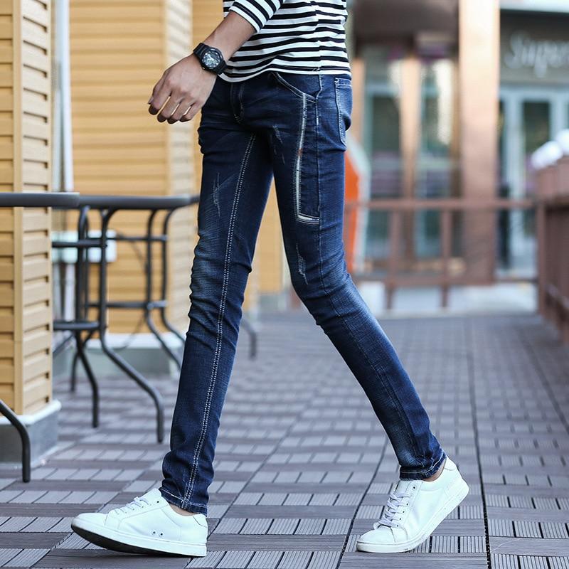 Fashion Mens Jeans Trousers Pants Men Straight Skinny Jeans Men Denim Casual Men Jeans Pants Jean Homme Pantalon Hombre BSJ89