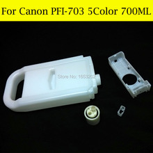 Factory price ink cartridge for canon PFI705 use For Canon iPF-810 iPF815 iPF820 iPF825 iPF8 printer free shipping head reset system for pf 03 printhead use on ipf810 ipf815 ipf820 ipf825 printer reset printing head
