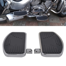 Motorcycle Driver Front Footboards Floorboards Footrest Foot Pad for Shadow ACE VT400/750 VT750C VT750DC Deluxe 1997-2003
