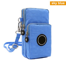 Women Messenger Crossbody Bag Wallet Handbag Phone Pouch Case Zipper Casual Shoulder Purse -OPK