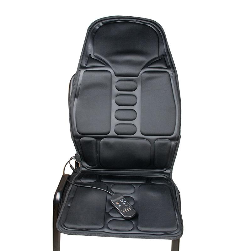 big sale back massage chair heat seat cushion neck pain lumbar