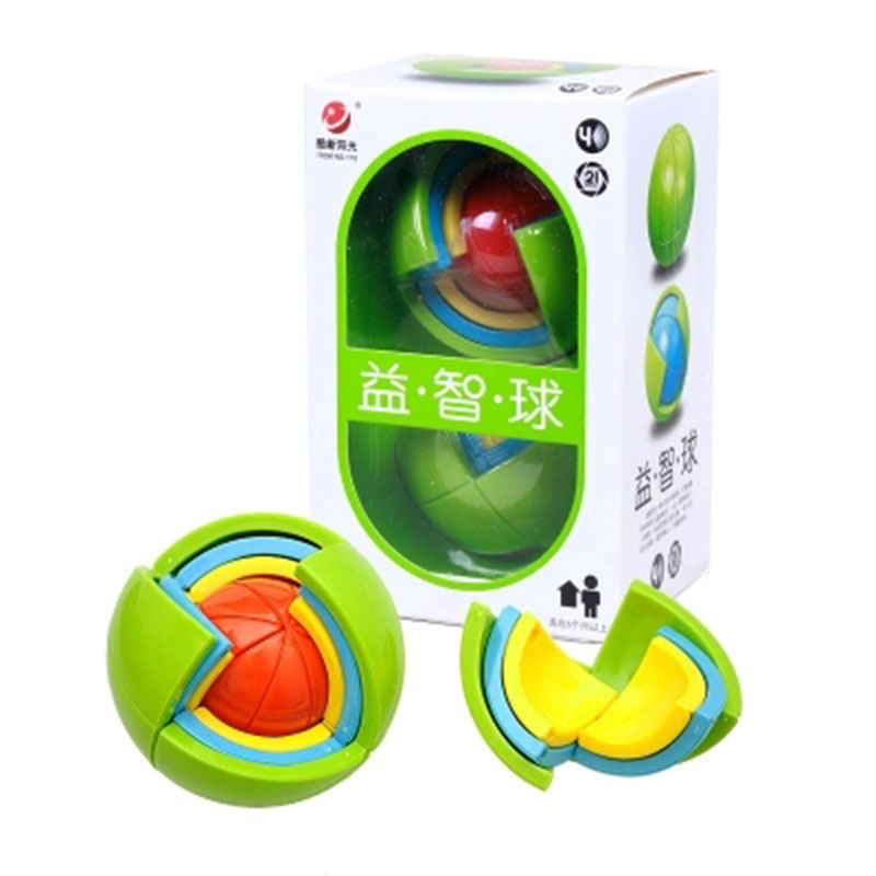 Puzzle ball 3D Intelligence Ball 3D Play Children's Educational Toys 3-15 Years Old Boy Girl Intelligence Development Maze Ball
