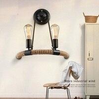 País da américa Edison lâmpada estilo Loft criativo de parede de cabeceira arandela quarto varanda do Vintage
