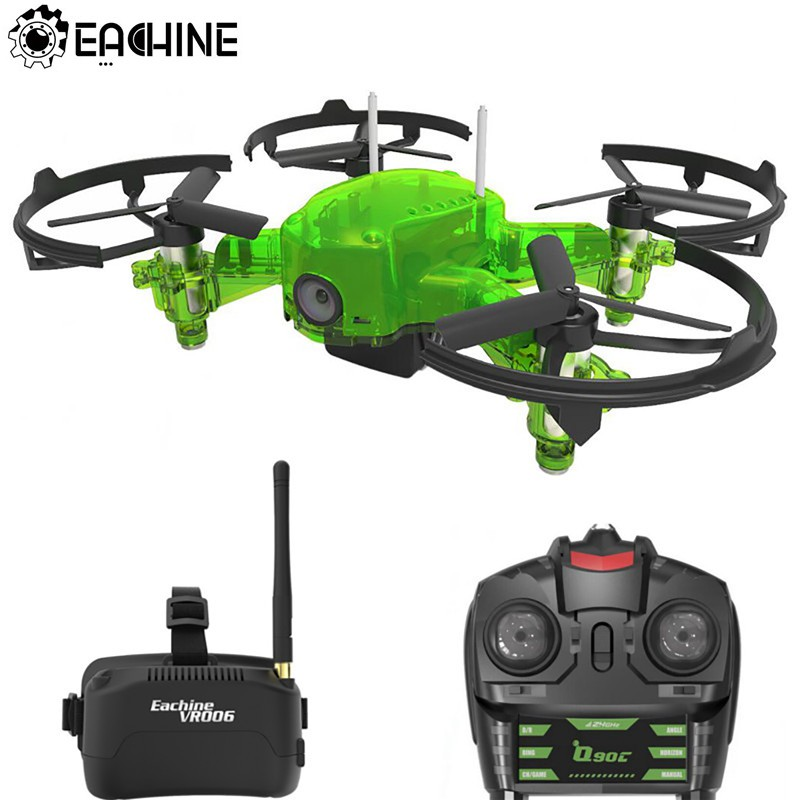 Eachine Q90C Flyingfrog FPV гоночный Дрон Quacopter 1000TVL Камера VR006 переключатель очков Freq Transimitter VS Eachine E013 Flyingfrog Q90