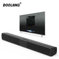 DOOLNNG BS 28B TV Bluetooth Speaker 20W Soundbar Home Theater Wireless 3D Surround Stereo Bass Subwoofer Portable Speakers