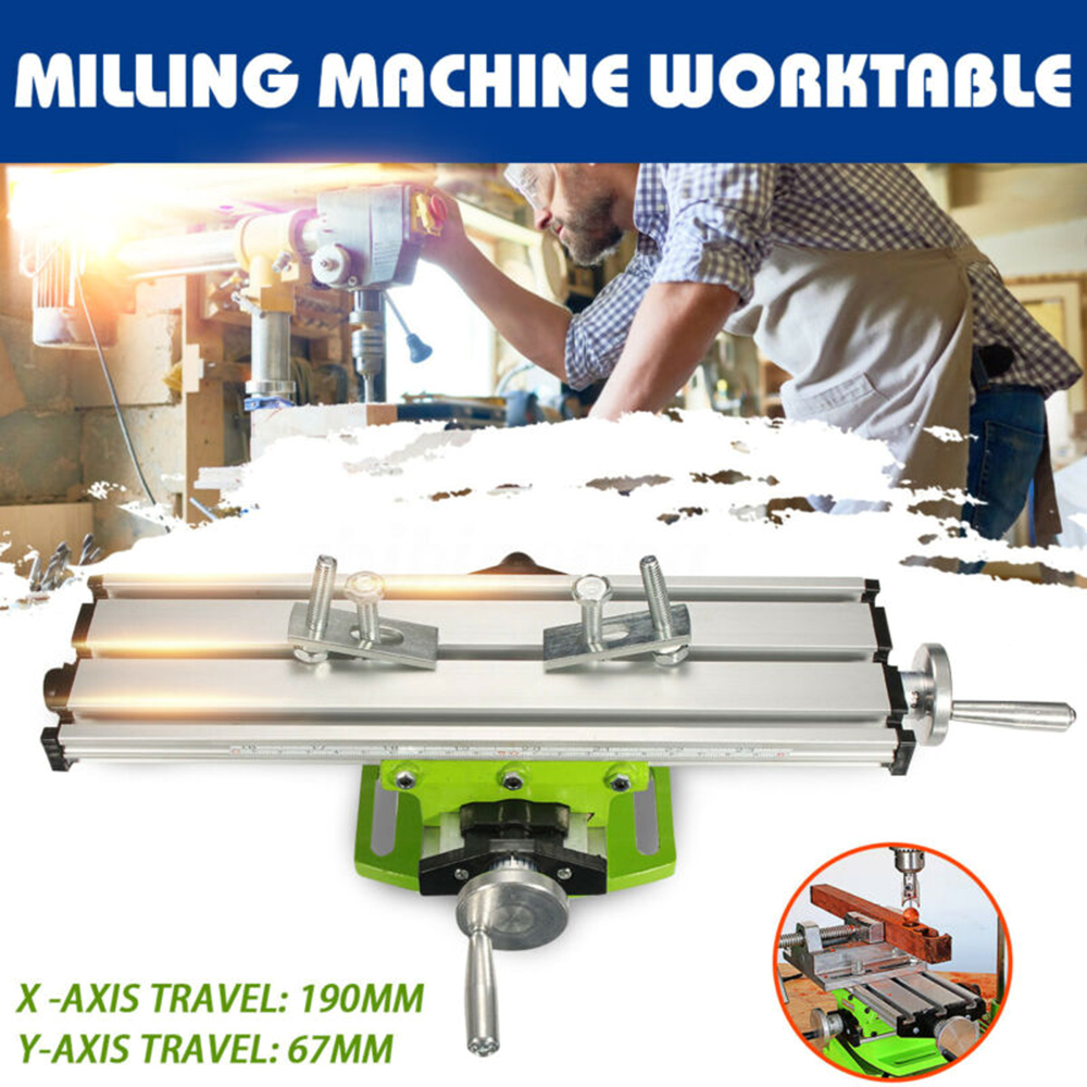 Mini Precision Milling Machine Vise Multifunctional Table Assisted Bench Borings