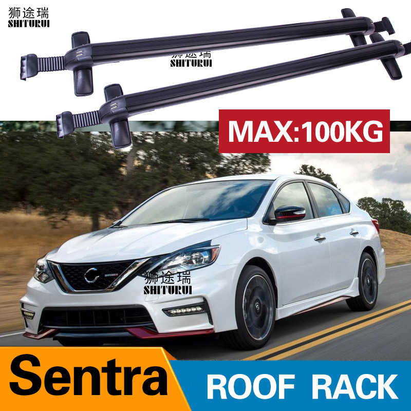 Shiturui 2pcs Roof Bars For Nissan Sentra 2013 2017 2018