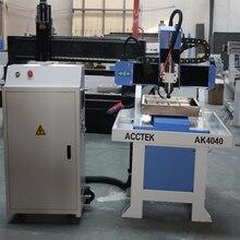 high precision 3030 4040 6060 cnc router aluminum shoe mould making 4 axis mini cnc machine