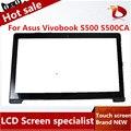 15.6 touch panel de Pantalla táctil Digitalizador de pantalla para Asus Vivobook S500CA S500 TCP15F81 V1.0